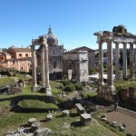 the forum view from the Capitoline